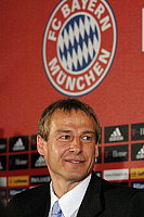 0263484 © Granger - Historical Picture ArchiveJUERGEN KLINSMANN .   Juergen Klinsmann - Soccer, Coach, FC Bayern Munich, Germany - unveiling as new signing to the club from season 2008-2009 - 11.01.2008 *** Local Caption *** 00956043. Sven Simon - ullstein bild / Granger, NYC -- All ri.