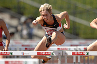 0263496 © Granger - Historical Picture ArchiveEUROPEAN ATHLETICS CUP 2007.   European athletics Cup 2007 in Munich, Germany: Annette Funck (Germany), 100 meter hurdles - 24.06.2007 *** Local Caption *** 00925045. Sven Simon - ullstein bild / Granger, NYC -- All rights reserved.