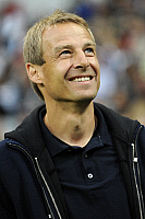 0263911 © Granger - Historical Picture ArchiveJUERGEN KLINSMANN.   Klinsmann, Juergen - Soccer, Coach, FC Bayern Munich, Germany - looking up - 12.07.2008 *** Local Caption *** 00993415. Sven Simon - ullstein bild / Granger, NYC -- All Rights Reserved.