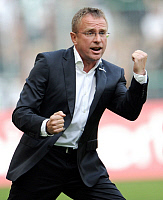 0264023 © Granger - Historical Picture ArchiveRALF RANGNICK.   Rangnick, Ralf - Coach, TSG 1899 Hoffenheim, Germany - 19.09.2009. Team 2 Sportphoto - ullstein bild / Granger, NYC -- All rights reserved.
