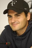 0264162 © Granger - Historical Picture ArchiveROGER FEDERER.   Federer, Roger - Tennis Player, Switzerland - 11.06.2008 No-commercial-use! *** Local Caption *** 01022607. Teutopress - ullstein bild / Granger, NYC -- All rights