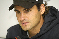 0264165 © Granger - Historical Picture ArchiveROGER FEDERER.   Federer, Roger - Tennis Player, Switzerland - 11.06.2008 No-commercial-use! *** Local Caption *** 01022606. Teutopress - ullstein bild / Granger, NYC -- All rights