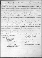 0259387 © Granger - Historical Picture Archive14th AMENDMENT, 1868.   The second page of the 14th Amendment of the United States Constitution, ratified on July 9, 1868.