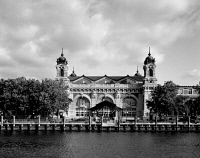 0323782 © Granger - Historical Picture ArchiveNEW YORK: ELLIS ISLAND.   The main building on Ellis Island in New York Harbor, now the Ellis Island Immigration Museum. Photograph by Carol M. Highsmith, late 20th century.