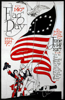 0621948 © Granger - Historical Picture ArchivePOSTER: FLAG DAY, 1917.   Poster for Flag Day, celebrated on 14 June 1917.