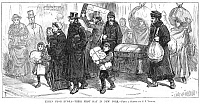 0035829 © Granger - Historical Picture ArchiveIMMIGRANTS: RUSSIAN JEWS.   Wood engraving from an American newspaper of 1882.