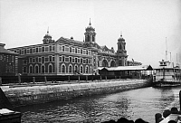 0125095 © Granger - Historical Picture ArchiveELLIS ISLAND, 1912.   The main building at the immigration station in New York Harbor, 1912.