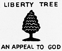 0097701 © Granger - Historical Picture ArchiveSONS OF LIBERTY SYMBOL, 1776.   Emblem of the Sons of Liberty, 1776.