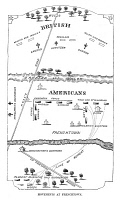 0065652 © Granger - Historical Picture ArchiveWAR OF 1812: FRENCHTOWN.   Plan of the Battle of Frenchtown, in the Michigan Territory, 22 January 1813, including the site of the following day's Raisin River Massacre.