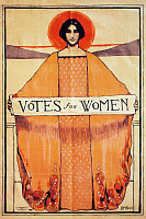 0023140 © Granger - Historical Picture ArchiveVOTES FOR WOMEN, 1911.   American women's suffrage poster, 1911.