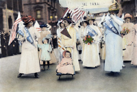 0041735 © Granger - Historical Picture ArchiveWOMEN'S SUFFRAGE, 1912.   An American women's suffrage parade in New York City, 6 May 1912.