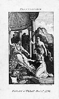 0123058 © Granger - Historical Picture ArchiveWOMEN'S RIGHTS, 1792.   Allegorical depiction of a woman presenting the seated figure of Liberty with a copy of Mary Wollstonecraft's 'A Vindication of the Rights of Woman.' Engraved frontispiece from the first volume of 'The Lady's Magazine,' printed at Philadelphia, December 1792.