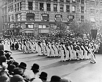 0180471 © Granger - Historical Picture ArchiveWOMEN'S RIGHTS PARADE, 1913.   A women's rights parade in New York City, 3 May 1913.