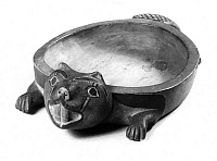 0174448 © Granger - Historical Picture ArchiveTSIMSHIAN BOWL.   Carved wooden bowl in the form of a beaver, Tsimshian, from British Columbia, Canada.