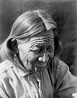 0170259 © Granger - Historical Picture ArchiveCURTIS: ARAPAHO, c1910.   An elderly Arapaho Native American in the western United States. Photograph by Edward Curtis, c1910.