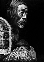0173086 © Granger - Historical Picture ArchiveKOSKIMO MAN, 1914.   Yakotlus, a Koskimo Native American man from Quatsino Sound, on the northwest coast of Vancouver Island, British Colubmia, Canada. Photographed by Edward S. Curtis, 1914.