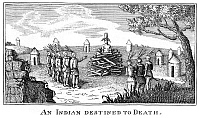 0173358 © Granger - Historical Picture ArchiveNATIVE AMERICAN PUNISHMENT.   Native Americans preparing to burn another at the stake. Copper engraving from William Fisher's 'An Interesting Account of the Voyages and Travels of Captains Lewis and Clarke,' Baltimore, 1813.