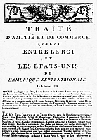 0075541 © Granger - Historical Picture ArchiveTREATY OF ALLIANCE, 1778.   First page of the printed text of the Treaty of Alliance with France concluded at Paris, France, on 6 February 1778.