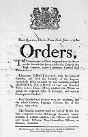 0131434 © Granger - Historical Picture ArchiveSOUTH CAROLINA, 1780.   'Orders.' Broadside by British General Henry Clinton, Charleston, South Carolina, 1 June 1780, congratulating the British Army on its successes in the back country of the state.