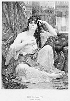 0000607 © Granger - Historical Picture ArchiveHAREM, 1876.   Etching by Leopold Flameng after the painting, 1876, by Alexandre Cabanel.