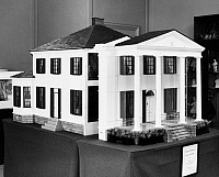 0120575 © Granger - Historical Picture ArchiveFEDERAL DOLLHOUSE, 1890.   The Bingham dollhouse, built c1890, for Mr. and Mrs. Charles W. Bingham of Cleveland, Ohio, for their daughters.