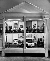 0127557 © Granger - Historical Picture ArchiveDOLLHOUSE, c1850.   American dollhouse from Chester County, Pennsylvania, c1850.