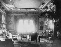 0133635 © Granger - Historical Picture ArchiveJOHN JACOB ASTOR RESIDENCE.   Interior of the home of John Jacob Astor IV (1864-1912) in New York City. Photograph, c1912.