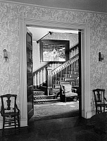 0266822 © Granger - Historical Picture ArchiveALABAMA: HOUSE INTERIOR.   Interior view of the Fearn-Garth House in Huntsville, Alabama. Photograph by Alex Bush, 1935.