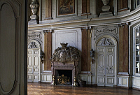 0356106 © Granger - Historical Picture ArchiveART & ARCHITECTURE.   Main hall, Thenissey Castle (15th-18th century), Burgundy, France. Full Credit: De Agostini / S. Vannini / Granger, NYC -- All rights reserved.