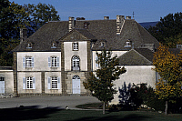 0357132 © Granger - Historical Picture ArchiveART & ARCHITECTURE.   Facade, Chassan Castle, Faverolles, Auvergne, France. Full Credit: De Agostini / C. Sappa / Granger, NYC -- All Rights Reserved.