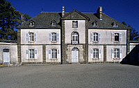 0357133 © Granger - Historical Picture ArchiveART & ARCHITECTURE.   Facade, Chassan Castle, Faverolles, Auvergne, France. Full Credit: De Agostini / C. Sappa / Granger, NYC -- All Rights Reserved.