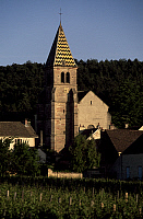 0357287 © Granger - Historical Picture ArchiveART & ARCHITECTURE.   Church of St Martin (12th-15th century), Fixin, at Gevrey-Chambertin, Burgundy, France. Full Credit: De Agostini / S. Vannini / Granger, NYC -- All rights res