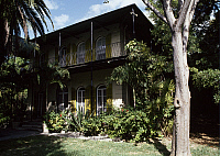 0358559 © Granger - Historical Picture ArchiveART & ARCHITECTURE.   Ernest Hemingway's House, Key West, Florida, United States. Full Credit: De Agostini Picture Library / Granger, NYC -- All rights reserved.