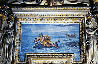 0361009 © Granger - Historical Picture ArchiveART & ARCHITECTURE.   Arion and the Dolphin (1604-1605), fresco by Giovanni Lanfranco (1582-1647), gallery, Farnese Palace, Rome, Lazio, Italy. Full Credit: De Agostini / P. Carrieri / Granger, NYC -- All rights reserved.