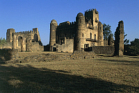 0361205 © Granger - Historical Picture ArchiveART & ARCHITECTURE.   King Fasilides' Castle (17th century), Fasil Ghebbi (Unesco World Heritage List, 1979), Gondar, Amhara Region, Ethiopia. Full Credit: De Agostini / C. Sappa / Granger, NYC -- All rights reserved.
