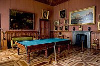 0420652 © Granger - Historical Picture ArchiveART & ARCHITECTURE.   Gothic style Billiard room in Vorontsov Palace, 1828-1846, designed by Edward Blore (1789-1879), Alupka, near Yalta, Crimea, Ukraine Full credit: De Agostini / W. Buss / Granger, NYC -- All Rights Reserved.