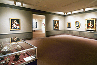 0115467 © Granger - Historical Picture ArchiveWOMEN'S ART MUSEUM.   View of the third floor gallery at the National Museum of Women in the Arts in Washington, D.C., opened in 1993.