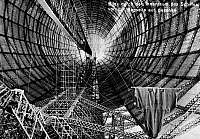 0090858 © Granger - Historical Picture ArchiveZEPPELIN CONSTRUCTION.   Interior of the Graf Zeppelin LZ 127 airship during construction at the Zeppelin Aircraft Works in Friedrichshafen, Germany. Postcard, c1930.