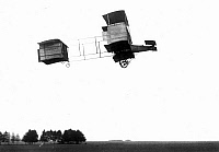 0016431 © Granger - Historical Picture ArchiveVOISIN-FARMAN AIRCRAFT.   An early Voisin-Farman design in flight (date unkown).