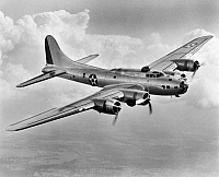 0028712 © Granger - Historical Picture ArchiveWWII: FLYING FORTRESS 1941.   A Boeing B17 'Flying Fortress,' 1941.