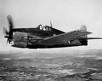 0039890 © Granger - Historical Picture ArchiveWWII: US NAVY HELLCAT 1943.   U.S. Navy Grumman Hellcat (F6F) fighter, 1943.