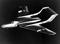 0091538 © Granger - Historical Picture ArchiveDE HAVILLAND SEA VIXEN.   The de Havilland DH 110 Sea Vixen, a jet fighter of the Fleet Air Arm of the British Royal Navy, 1952.