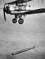 0091751 © Granger - Historical Picture ArchiveBRITISH TORPEDO BOMBER.   The Fairey Swordfish, a torpedo bomber of the Fleet Air Arm of the British Royal Navy during World War II.