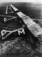 0171747 © Granger - Historical Picture ArchiveWORLD WAR I: GERMAN PLANES.   German airplanes at an airfield during World War I. Photograph, c1916.