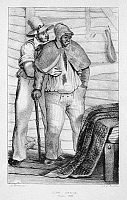 0086786 © Granger - Historical Picture ArchiveVIRGINIA: SLAVERY, 1830.   'Live Stock, Virginia 1830.' Lithograph from the first American edition of Fanny Trollope's 'Domestic Manners of the Americans,' 1832.
