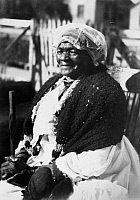 0260066 © Granger - Historical Picture ArchiveMAMMY PRATER, c1920.   Portrait of Mammy Prater, a 115 year old former slave. Photograph, c1920.