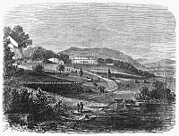 0267565 © Granger - Historical Picture ArchiveFREEDMEN SCHOOL, 1867.   A Freedmen Farm-School near Washington, D.C. Wood engraving, American, 1867.