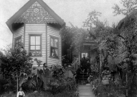 0621439 © Granger - Historical Picture ArchiveKNOXVILLE: HOUSE, c1899.   Home of C.C. Dodson in Knoxville, Tennessee. Photograph, c1899.