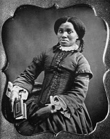 0006491 © Granger - Historical Picture ArchiveBLACK WOMAN, c1850.   An unidentified African American woman. Daguerreotype.