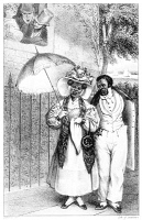 0067710 © Granger - Historical Picture ArchiveBLACK COUPLE, 1832.   Lithograph from Frances Trollope's 'Domestic Manners of the Americans,' 1832.